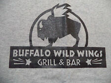 BUFFALO WILD WINGS TEAM t shirt sz M EUC chicken bar server waiter