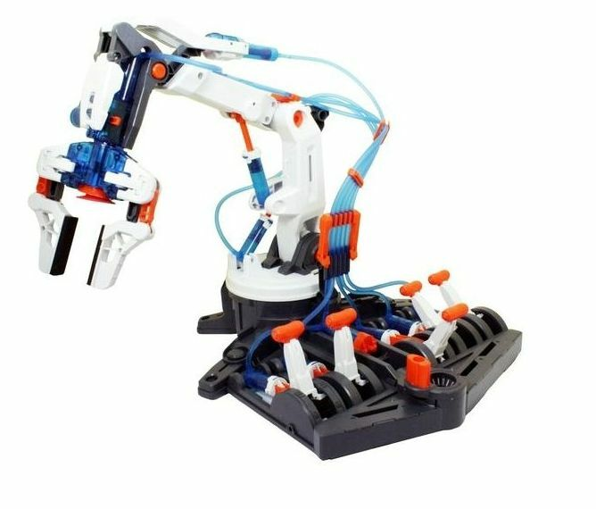 Robot Hydraulic Arm Toy - Powered By Water  No Batteries Required - New & Boxed