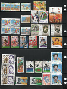 Sport-and-olympics-collection-35-Australia-and-world-stamps