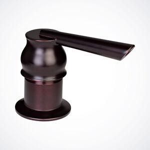Details about Oil Rubbed Bronze Contemporary Kitchen Sink Soap Dispenser  Bottle Pump Bottle