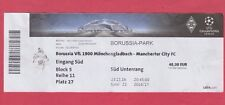 Orig.Ticket   Champions League  2016/17  B.MÖNCHENGLADBACH - MANCHESTER CITY  !!