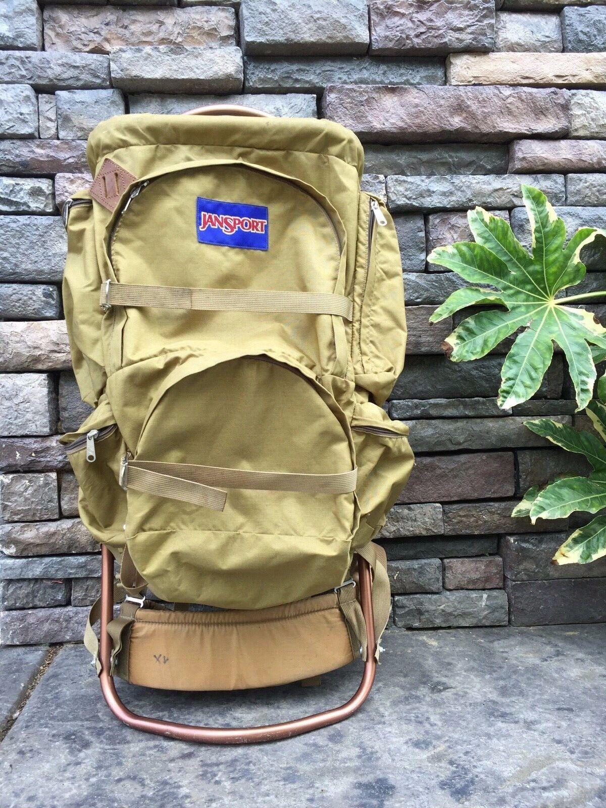 Vintage 70s Jansport  K2 External Frame Hiking Cámping Backpack  alta calidad general