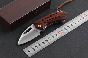 D2-Blade-Tactical-wolf-Knife-Outdoor-Camping-Tools-Sharp-Liner-locK-Saber-Box