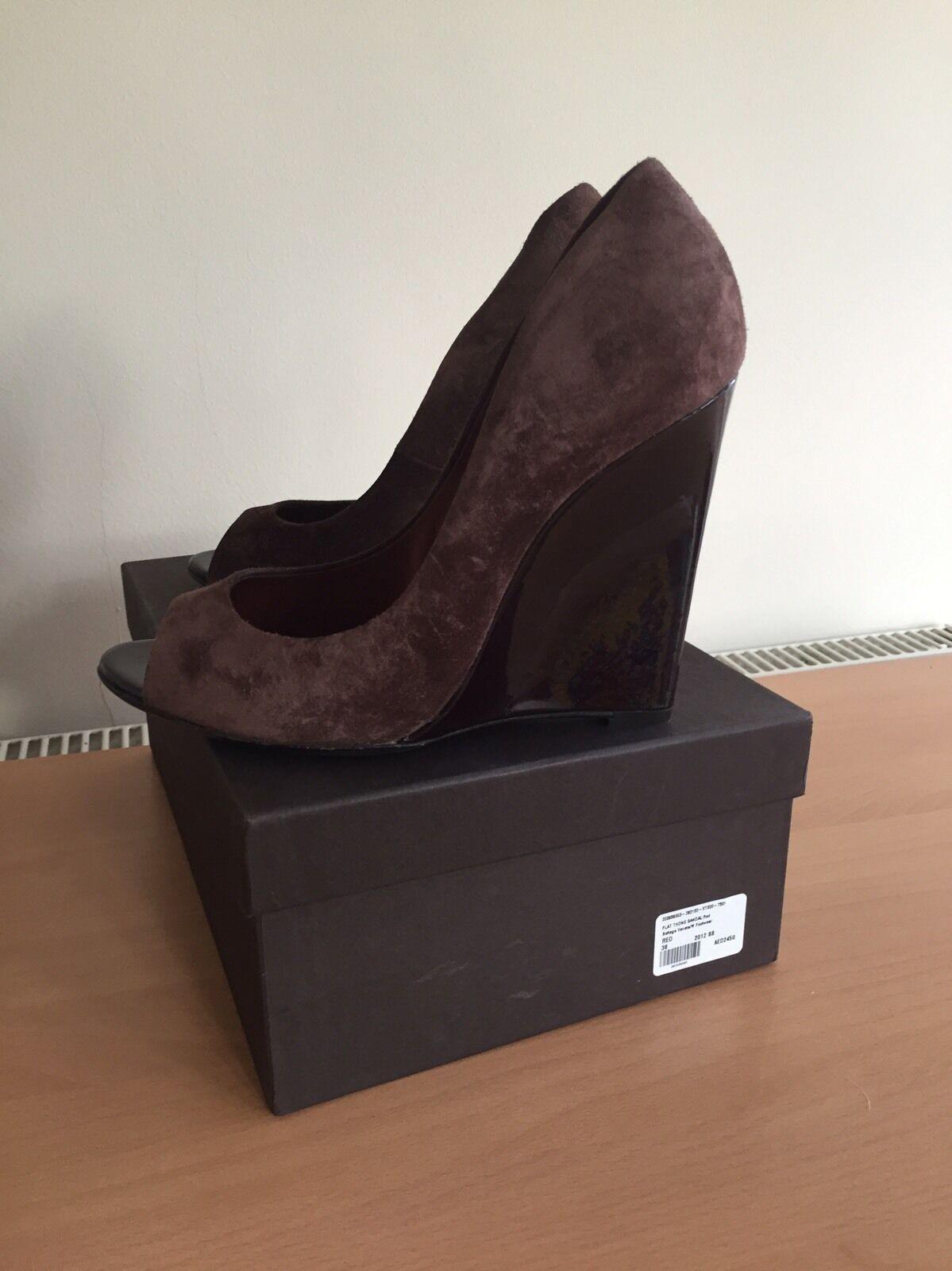 Bottega Veneta Designer 38,Stunning! Brown Shoes, Size 38,Stunning! Designer 92876b