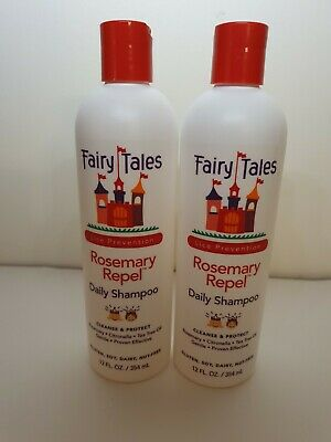 Fairy Tales Rosemary Repel Lice Prevention Shampoo 12oz 2 Pack New C10 C Ebay