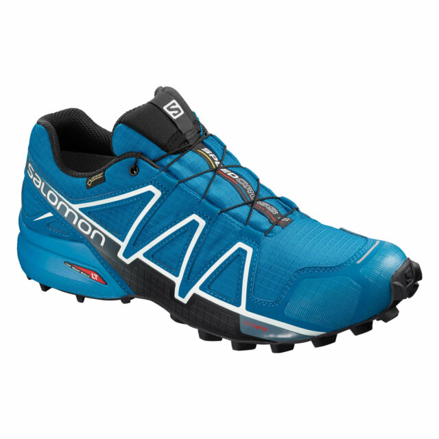 Salomon Herren Speedcross 4 GTX Trailrunning schuhe wasserdicht blau (sky