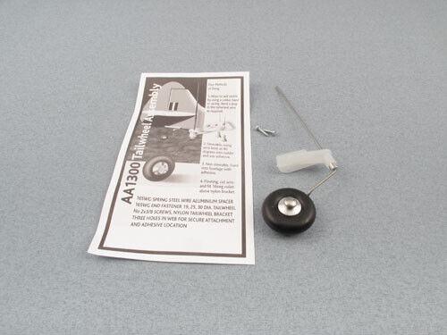 "Radio Active Tailwheel Bracket Set 30mm//1.25/"" F-RAA1300//30"