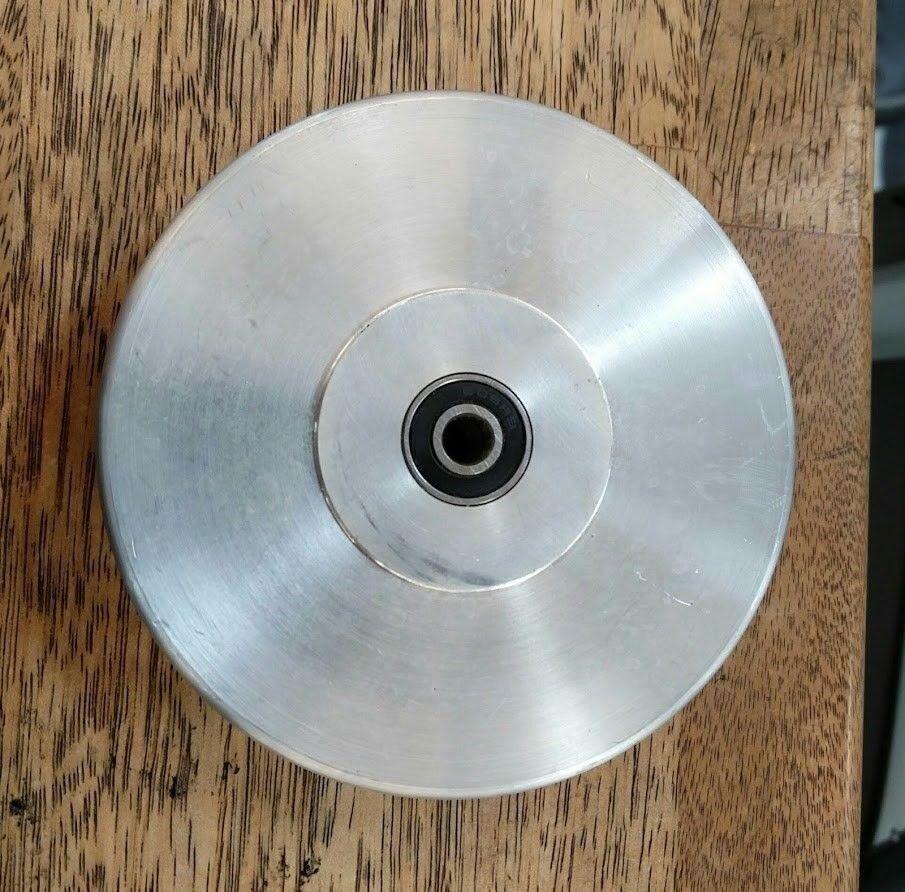 Andet, Trisse med kuglelejer, Aluminium ø115 (115 mm i