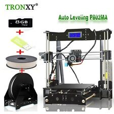 P802MA Large Size Precision home DIY i3 3D Printer Self assembl & Card &material