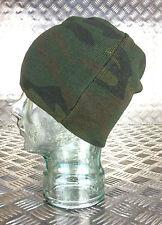 Green Woodland Camouflage Beanie Hat - Very Warm - One Size - Brand New