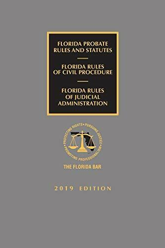 Florida Probate Rules and Statutes, Rules of Civil Pr... by Publisher's Editoria