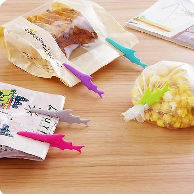 Shark Sealing Food Bag Clip Seal Clamp Facial Cleanser Toothpaste Squeezer
