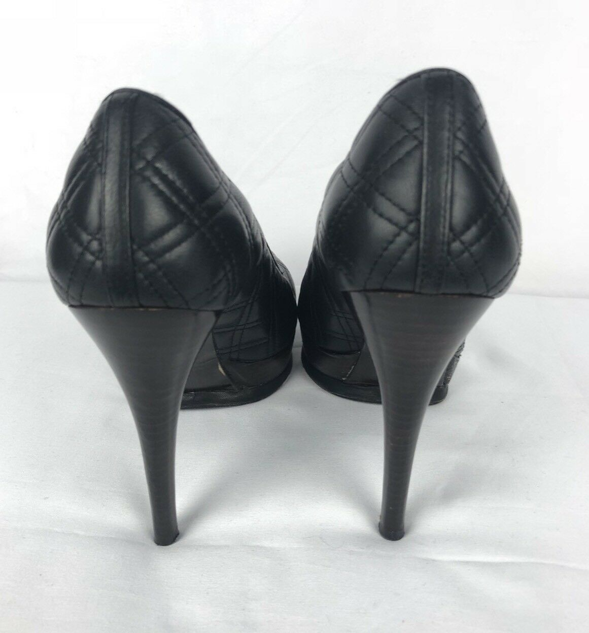 Stuart Weitzman Women's Quilted Leather Heels Sz 7 shoes Dress Dress Dress Stiletto Pumps 8c38ad