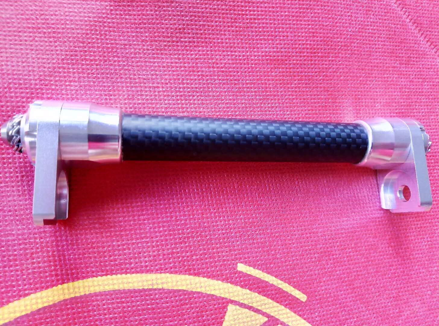 Easy Wheels Extender Bar for Brompton Bicycle Frame easy pulling Roll Extension
