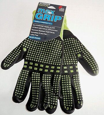 MAX GRIP ALL-PURPOSE WORK GLOVE Ultimate Grip  S//M