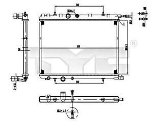 BRAND NEW RADIATOR TO FIT PEUGEOT PARTNER//CITROEN BERLINGO//XSARA PICASSO 1.6 HDI