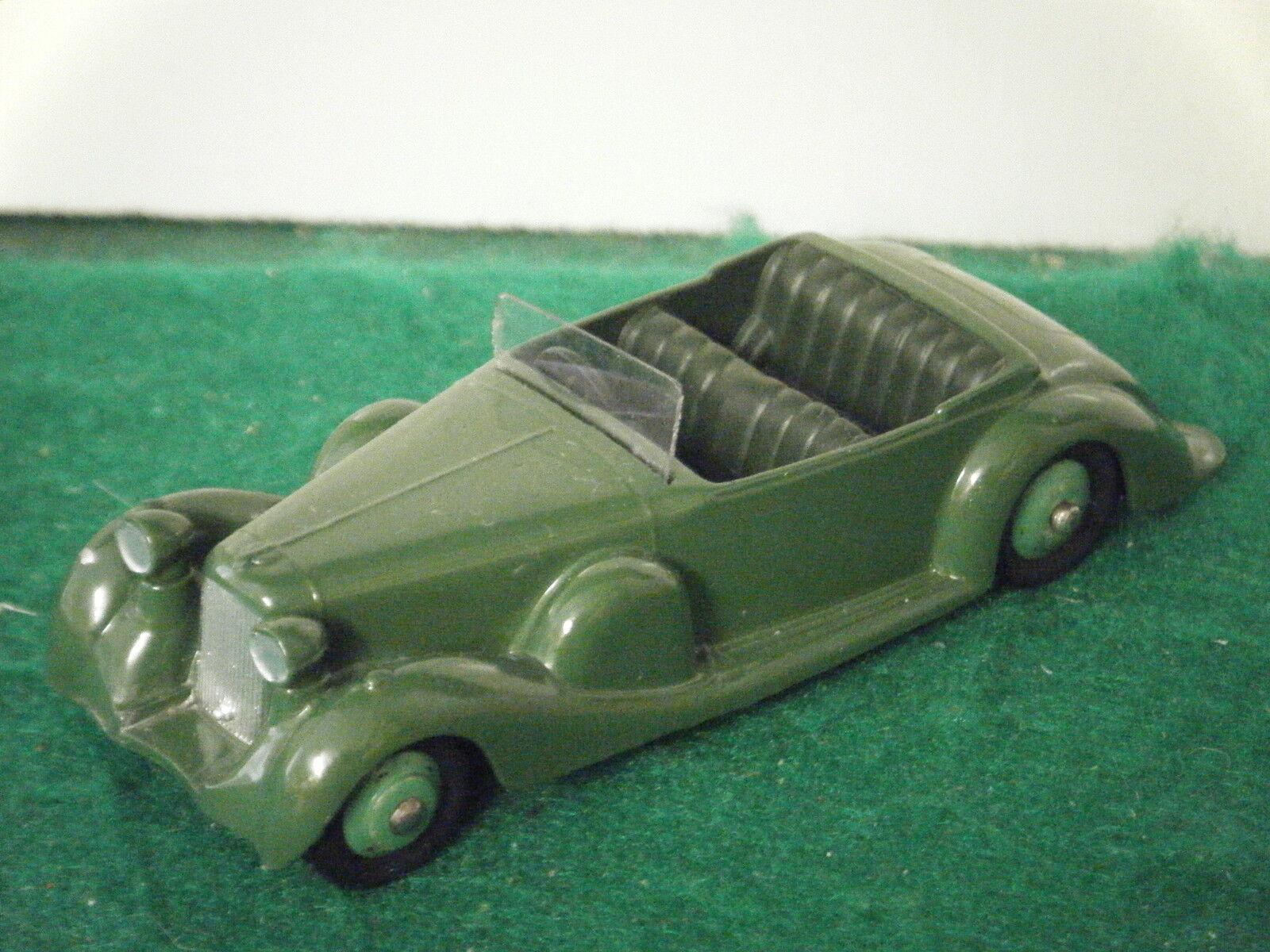 Dinky No  38c  Lagonda Sports Coupe  - Green (Near Mint)