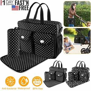 Maternity Diaper Bag Mummy Waterproof Travel Backpack Nappy Bags for Baby Care
