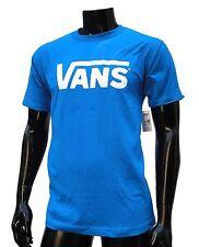 Vans Skateboard Classic Turquesa/White Logo Mens T shirt Size Large