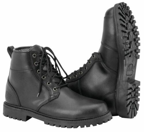 Black Brand Men/'s Stomper Motorcycle Boots