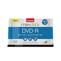 Maxell Dvd-r Discs 4.7gb 16x Spindle Gold 50/pack 638011 on sale