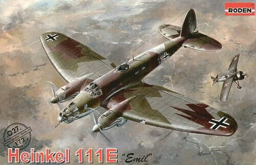Roden 1  72 Heinkel He -111E