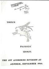 RARE/ARNHEM/100 PAGE MUSEUM DOCUMENT PHOTOCOPY/UNDER PEGASUS WINGS/1st AIRBORNE