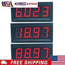 Mini Digital 056inch Led Display Ammeter Panel Amp Current Meter Tester