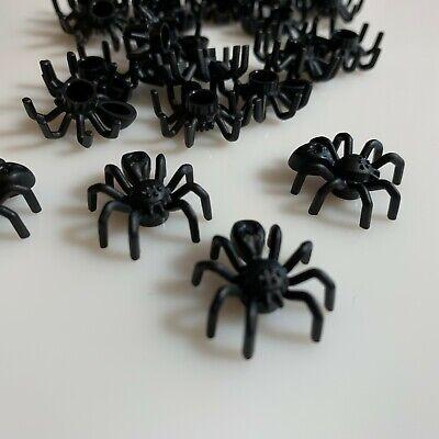 29111 Bulk Lot Of 10 Pieces Animal Zoo parts LEGO Black Spider