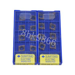 10pcs CCMT32.50.5ESU CCMT09T302N-SU AC530U SUMITOMO CNC Carbide Inserts Original