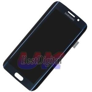 D-039-origine-Ecran-LCD-Vitre-Tactile-Pour-Samsung-Galaxy-S6-Edge-G925F-Bleu