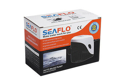 Seaflo 750 Gph Bilge Pump With Built In Float Switch 12v Automatic 3 4 Ebay