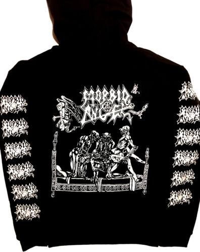 MORBID ANGEL Hoodie Dismember BATHORY Mayhem Immolation Autopsy Venom Slayer 666