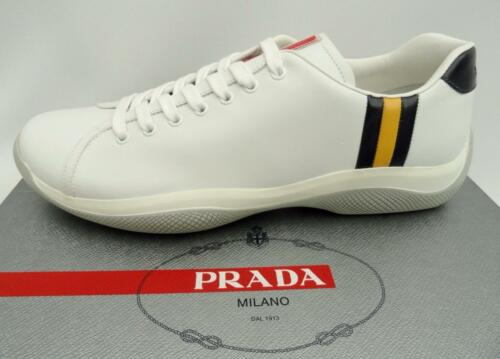 Sneakers Chaussures Us10 Uk9 Trainers Prada White Eu43 Nouveau vwxF4nT5qO