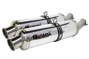 Honda-CBR-1100-XX-Blackbird-2003-2004-Musarri-S-O-Exhaust-Dual-Mufflers-AL