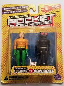 DC-Comics-Pocket-Super-Heroes-Silver-Age-Aquaman-Vs-Black-Manta-New-In-Box