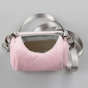 Fashion-Small-Pet-Hamster-Rabbit-Nest-Mesh-Carriers-Shoulder-Bag-Portable-G5O