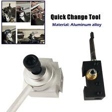 Piston Tool Post Set Cnc High Precision Quick Change Lathe Holder Lathe Tool Set