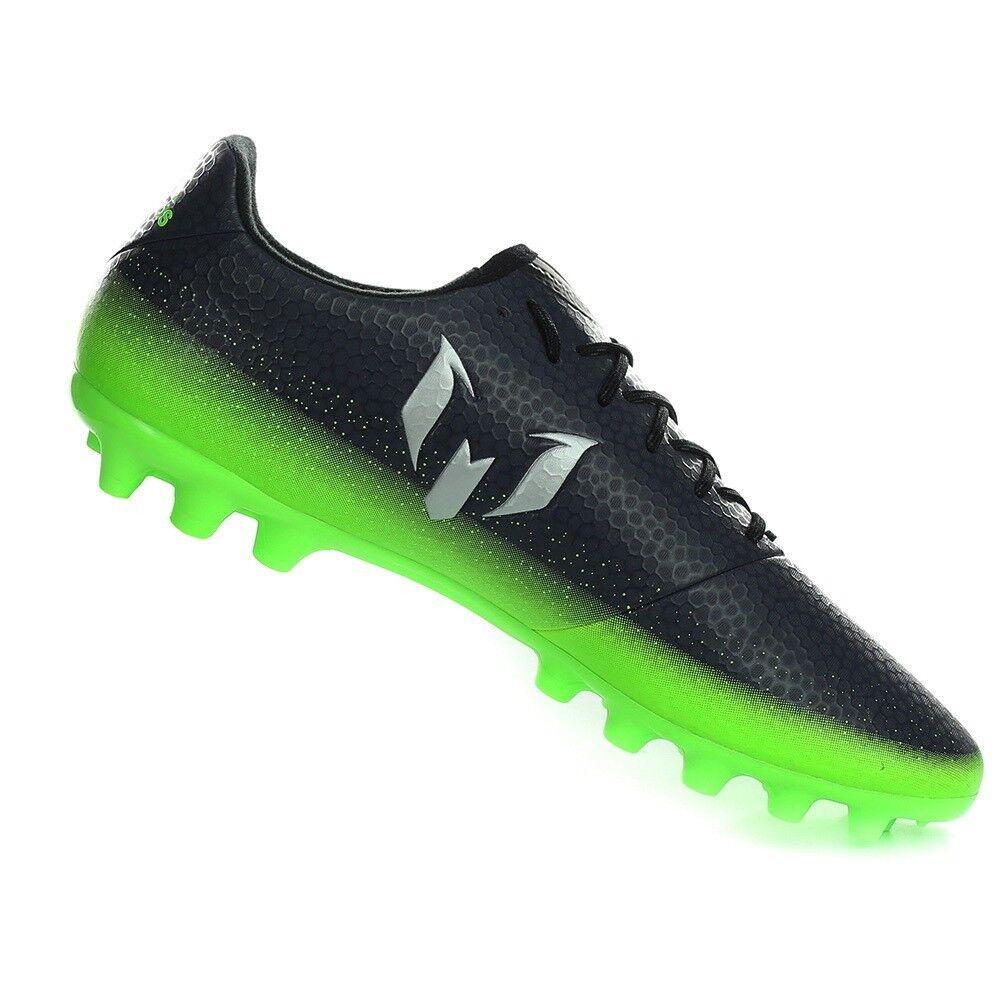 Adidas Zapatos De Fútbol Messi Entrenamiento Juego De Deportes Hombres botas De Fútbol 16.3 AG S80537