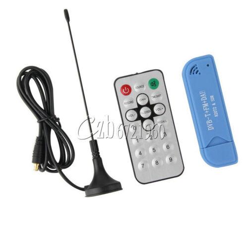 USB 2.0 Digital DVB-T SDR+DAB+FM HDTV TV Tuner Receiver Stick RTL2832U R820T2 C