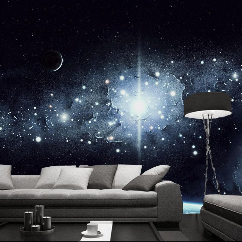 3D Milky Way Stars 8017 Wall Paper Wall Print Decal Wall Deco Wall Indoor Murals