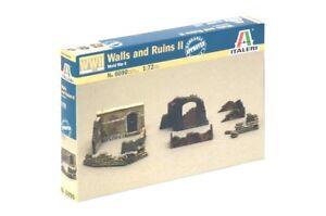 Italeri-1-72-WWII-Walls-And-Ruins-Set-II-6090-NEW