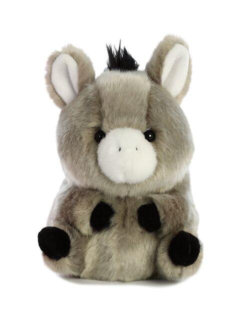 b25b0ea9eb92 Bray Donkey Rolly Pet 5 Inch - Stuffed Animal by Aurora Plush for ...