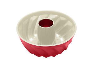 Keramik-Gugelhupfform-755523-Backform-Kuchenform-22-cm-rot-Gugelhupf-Bundform