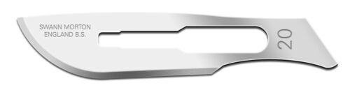 Swann-Morton Sterile /& Non Sterile Carbon Steel Surgical Blades All Size /& Packs