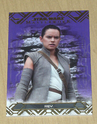 Star Wars Masterwork 2017 Base Card #62 Rey