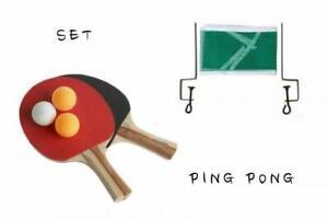 SET-PING-PONG-RACCHETTE-MANICO-IN-LEGNO-RETE-SUPPORTI-3-PALLINE-TENNISTAVOLO