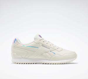 Reebok Royal Glide Ripple Clip Women's Shoes Fog/White/Grey FY5965 UK 4.5 to 7.5