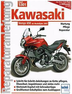 book repair manual kawasaki versys 650 from model year 2007 tape rh ebay com kawasaki versys 300 workshop manual 300 Kawasaki Versys