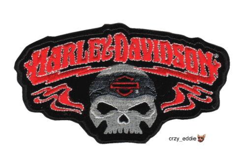 HARLEY DAVIDSON 2XL RHAPSODY SKULL VEST PATCH  ** DISCONTINUED DESIGN **